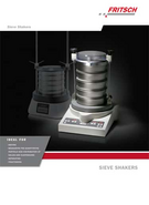 Product leaflet Sieve Shakers